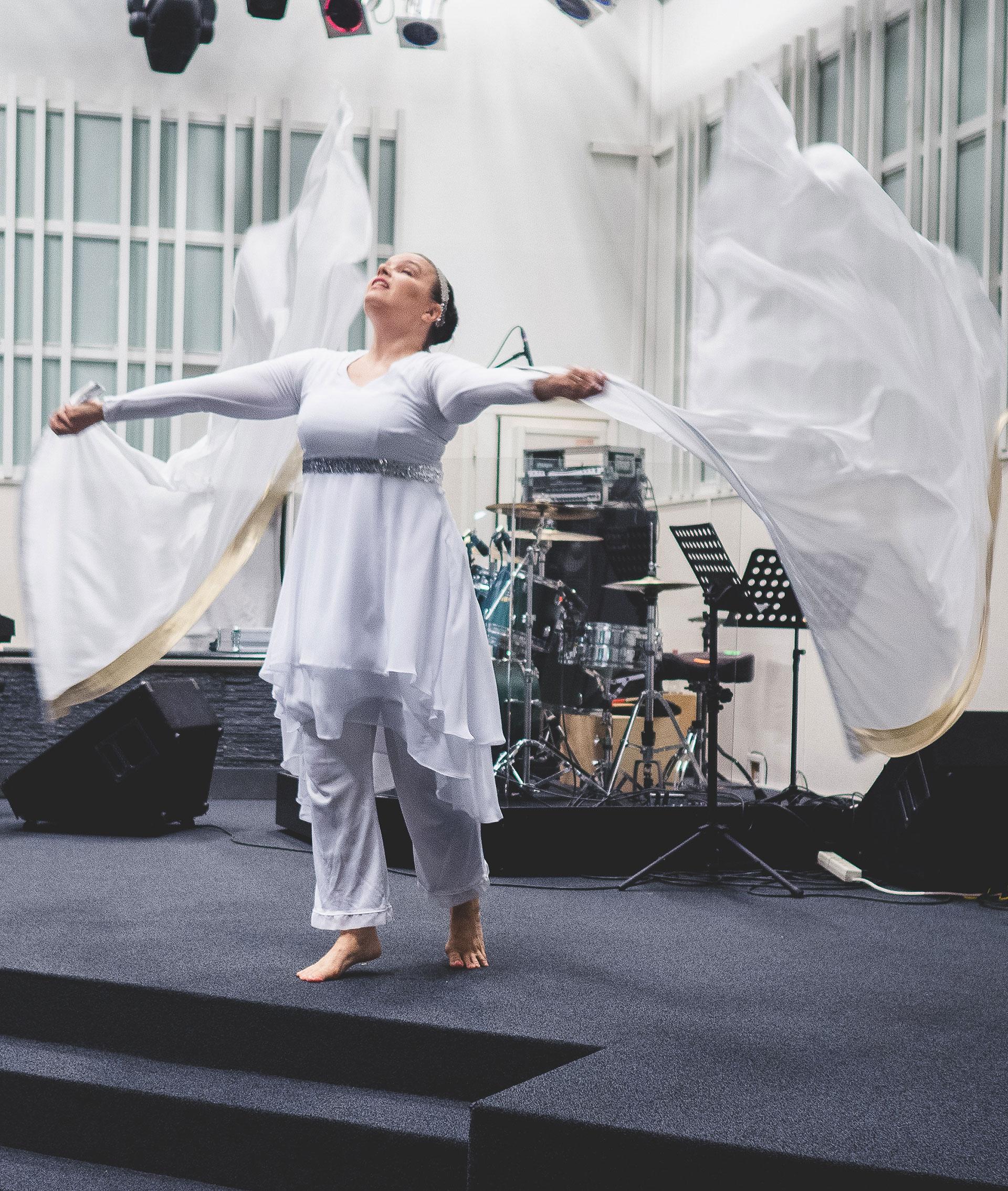 Miisu Piipari Power Prayer -palvelutehtävässä.